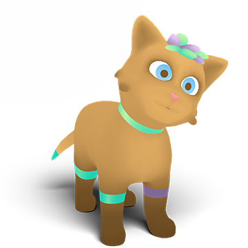 web ar virtual pet Little XR
