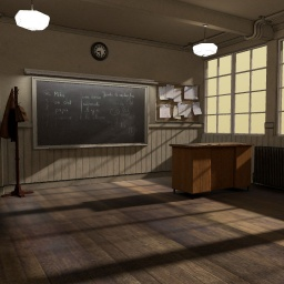 Classroom |  Blender model