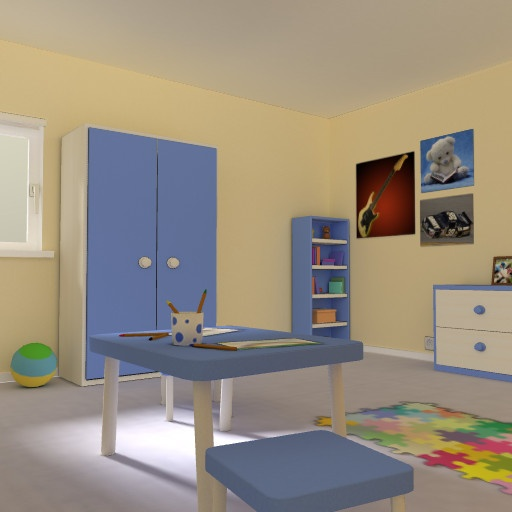 web vr Kid's bedroom