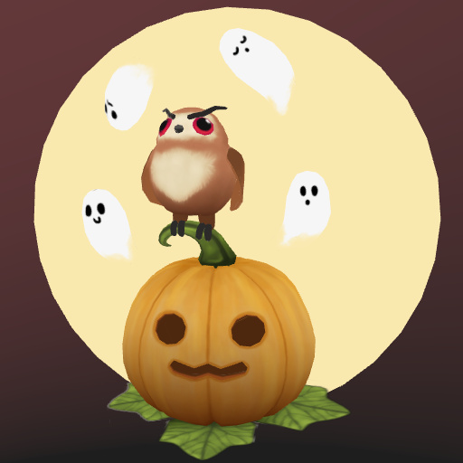 web AR XR+ Halloween pumpkin