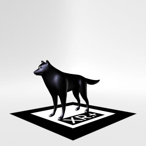 web AR XR+ wolf