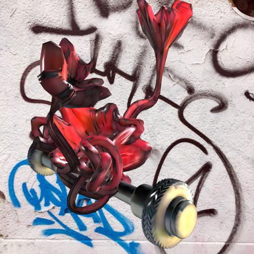 web AR XR+ FLOWER_VEHICLE